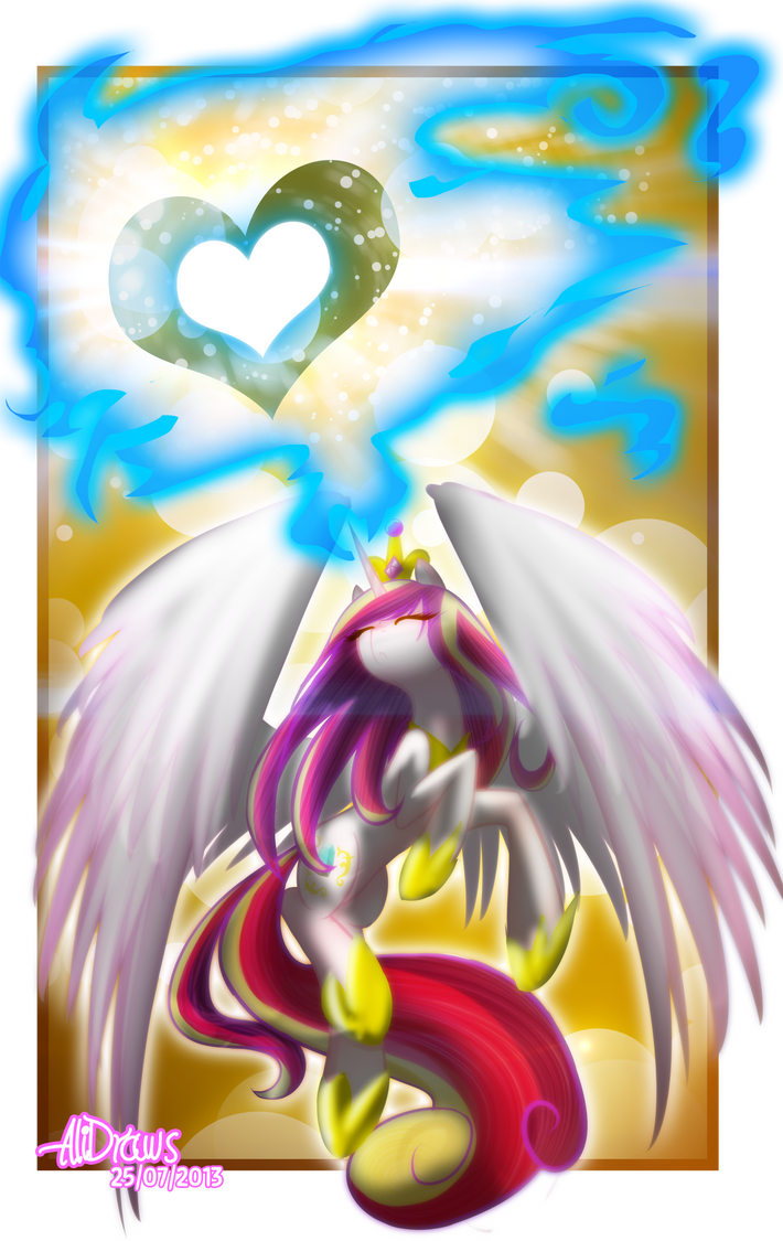 Cadence .:Alicorn of Love:. by kaiomutaru25