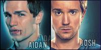 Being Human icons- Aidan-Josh by SundayPie