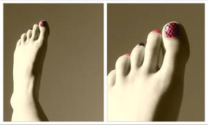 Light trough yonder toes by MushyFuckingPea
