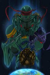 Teenage Alien Ninja Turtles by danny12346