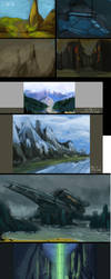 Landscapes Practice by danny12346
