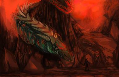 Fiery Dragon by danny12346