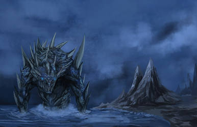 Sea Monster by danny12346