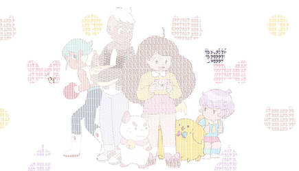 Bee and Puppycat Typography by Atlantagirl