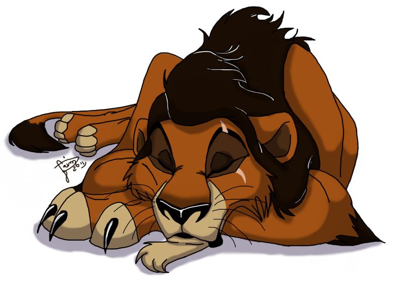 Sleeping Scar by JasmynGarden