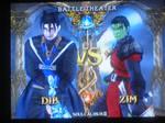 Dib vs. Zim in Soul Calibur
