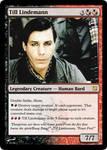 Till Lindemann MTG card