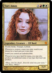 Tori Amos MTG Card by Darkmoose84