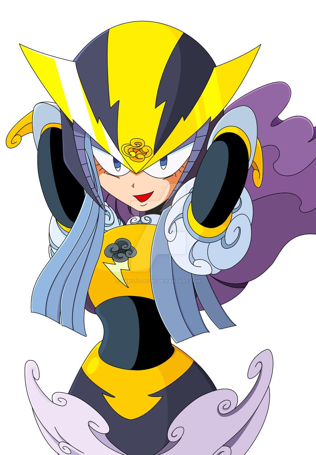 Stormwoman TM concept by kabuto-gouki