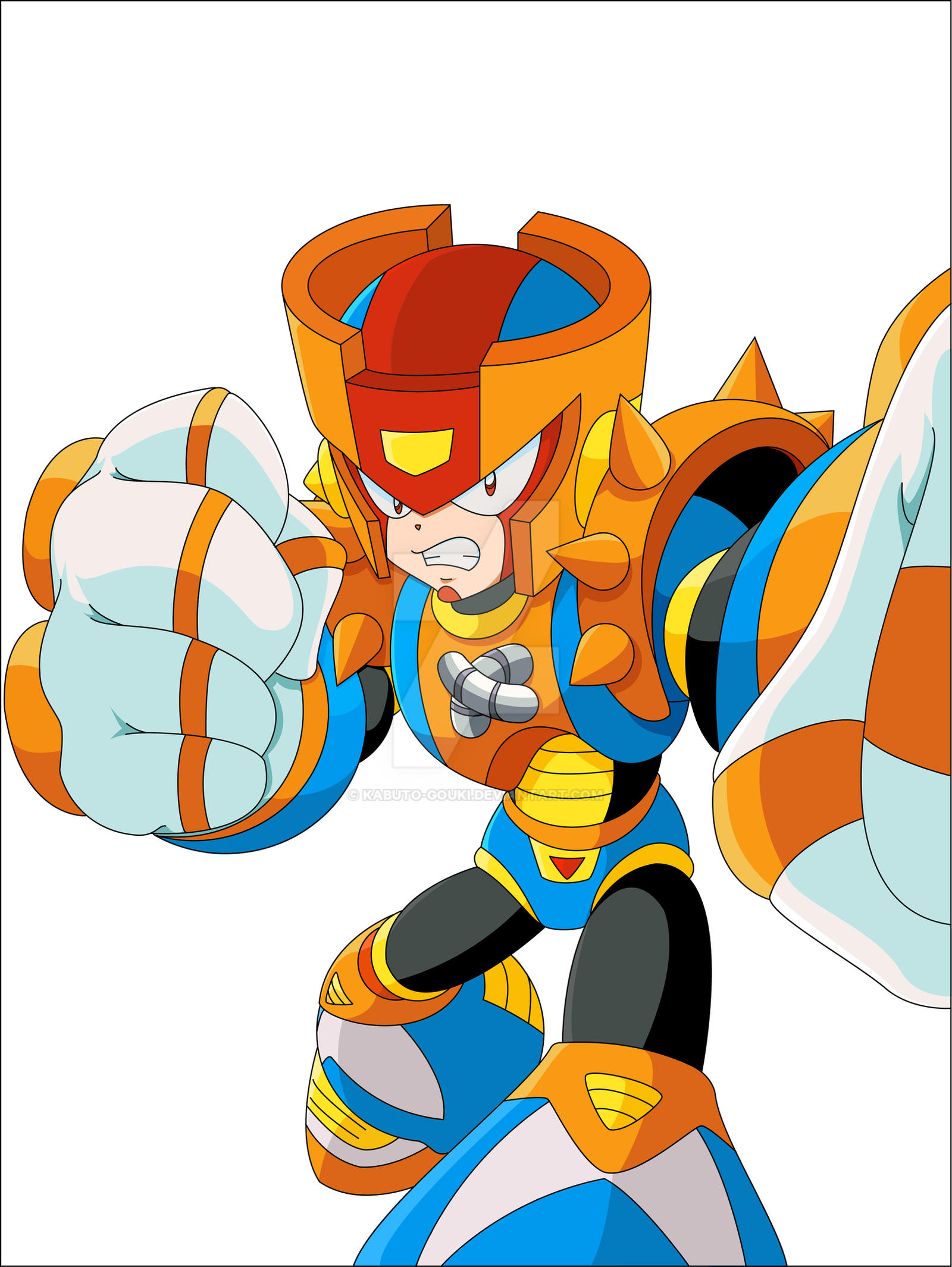Knucleman TM concept by kabuto-gouki