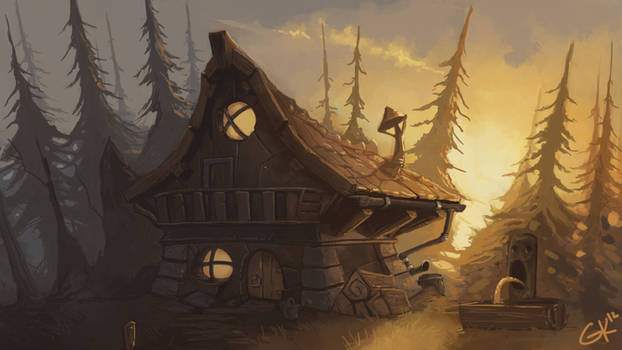 Forest Shack 02