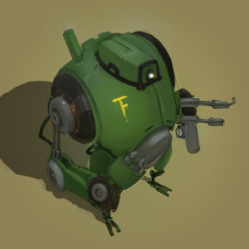Squarrobot 0003 by gregorKari