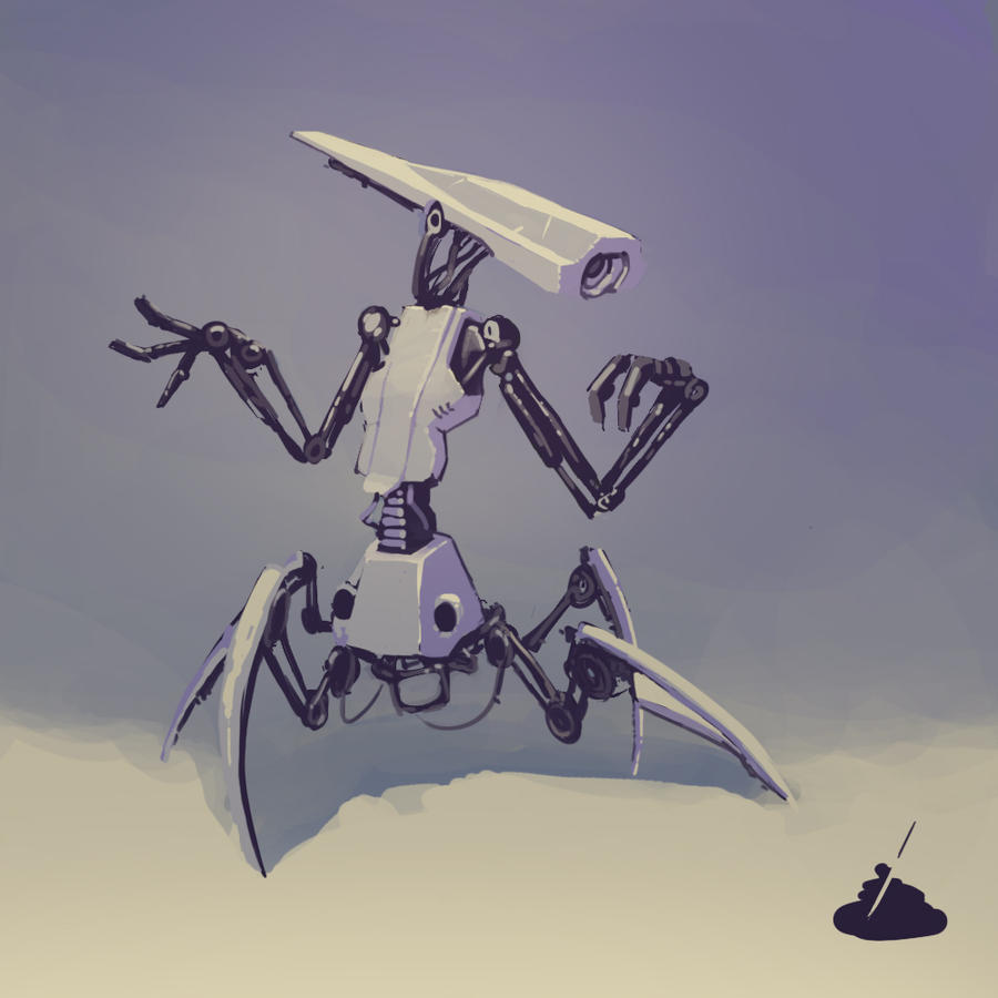 Squarobot 0004 by gregorKari