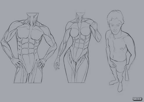 Studies .. let's start over again with #001