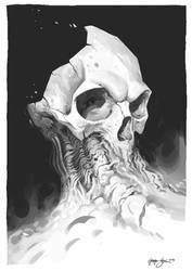 Corroding Titan's Head by gregor-kari
