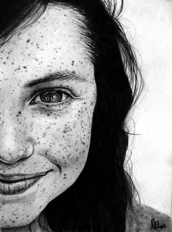 Çilli Yüzler Four_hundred_freckles_by_E777Y