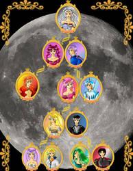::Moon Family:: by Black-Umi
