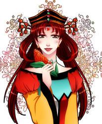 Golden princess by Black-Umi