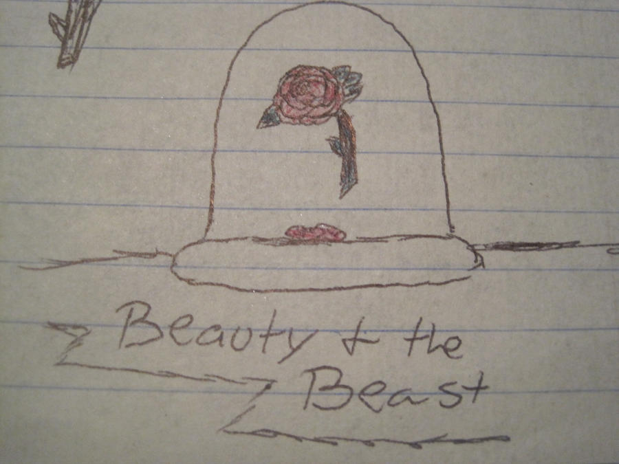 Beauty And The Beast Flower By Invisiblewinterwitch On