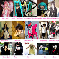 Year Of Cosplay 2012 Part 1