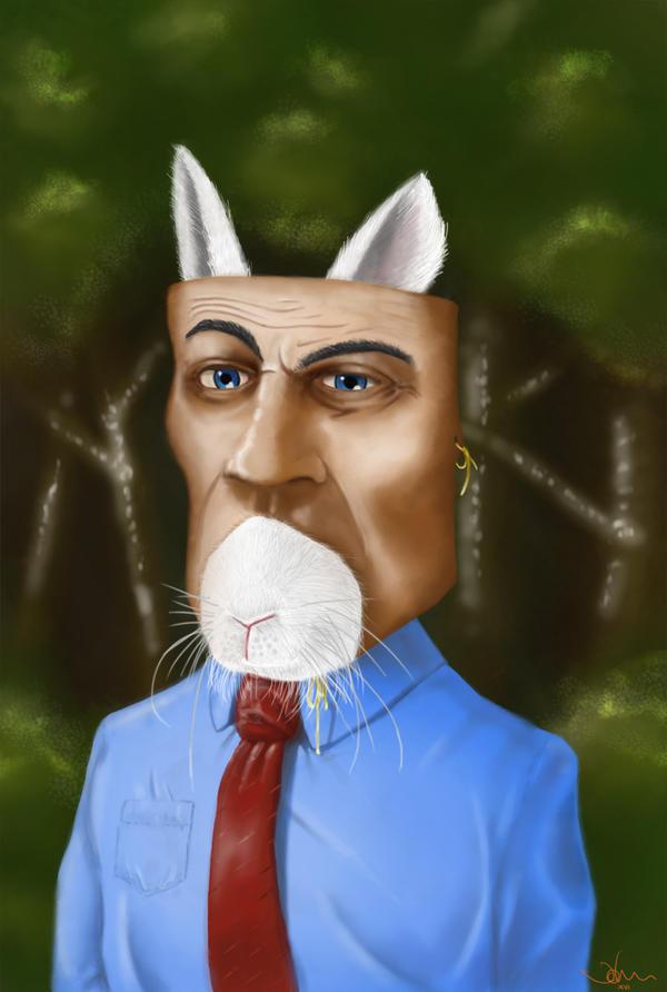 What rabbit? by littleweird