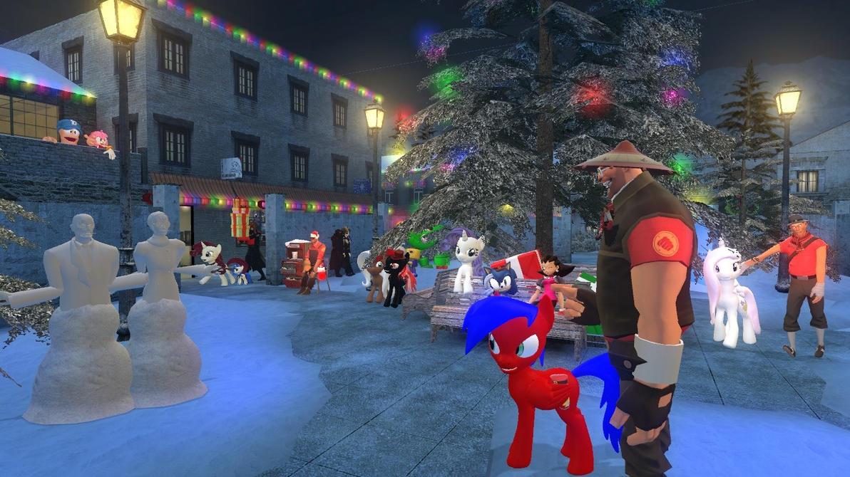 Sonicdevil christmas V3 by sonicdevil18
