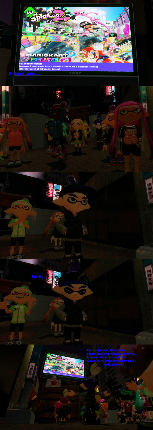 New Splatastic Generation! by sonicdevil18