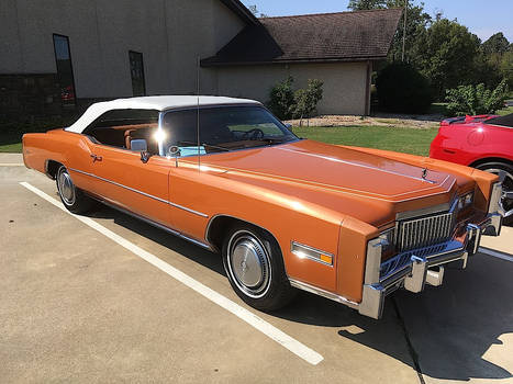 Orange Cream Cadillac