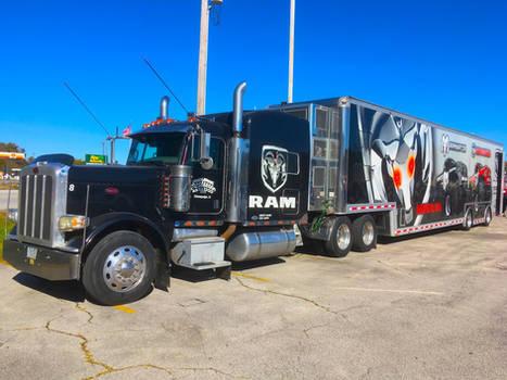 Raminator Monster Truck Hauler
