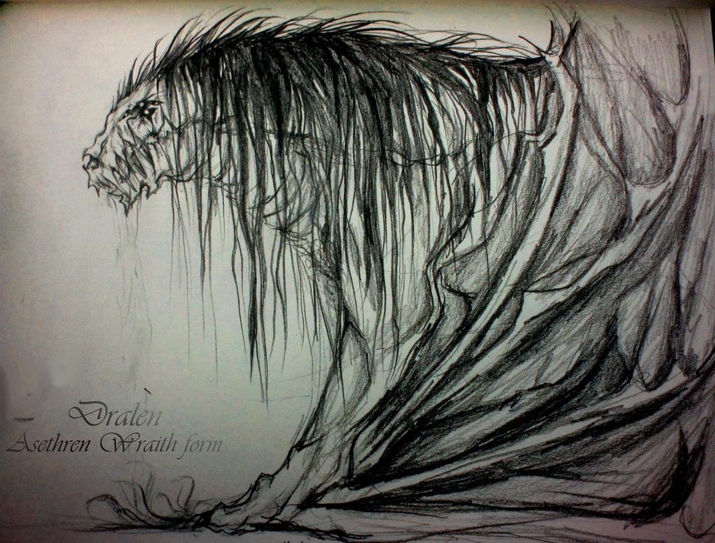 Dralen Asethren Wraith form by Indecisus on DeviantArt