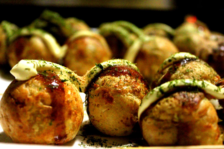 Japanese Food Recipe Takoyaki