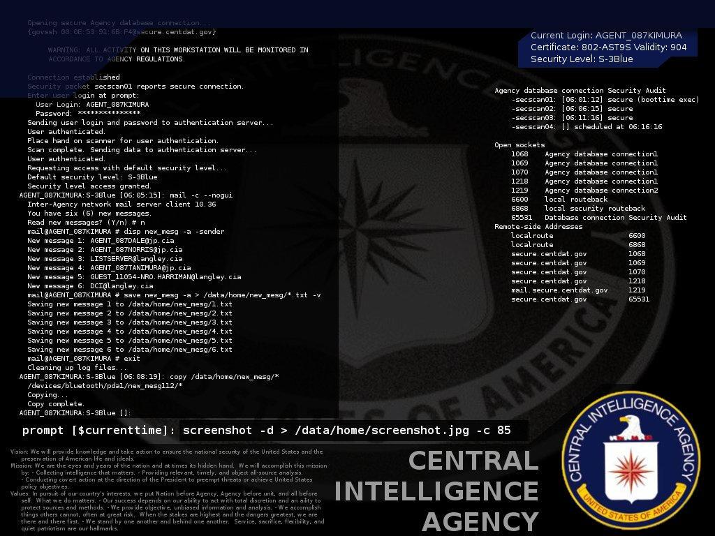 geek CIA wallpaper by guardianangelz on DeviantArt