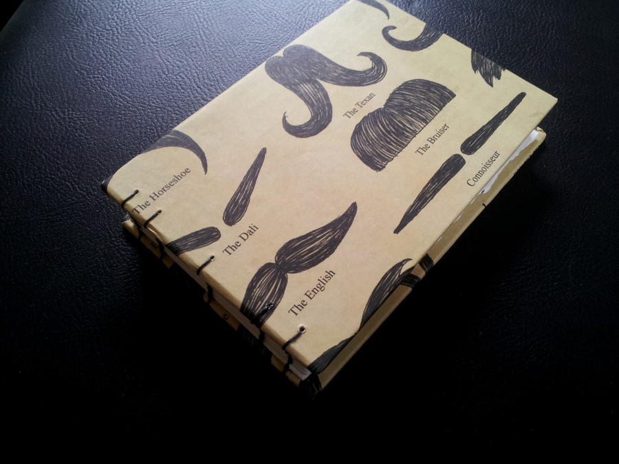 Mustache Book by Pepper-Dragon
