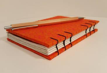 Orange and Black Book