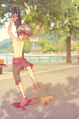 Skaters keep me up all night...