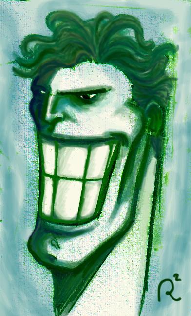 joker tribute by lozart