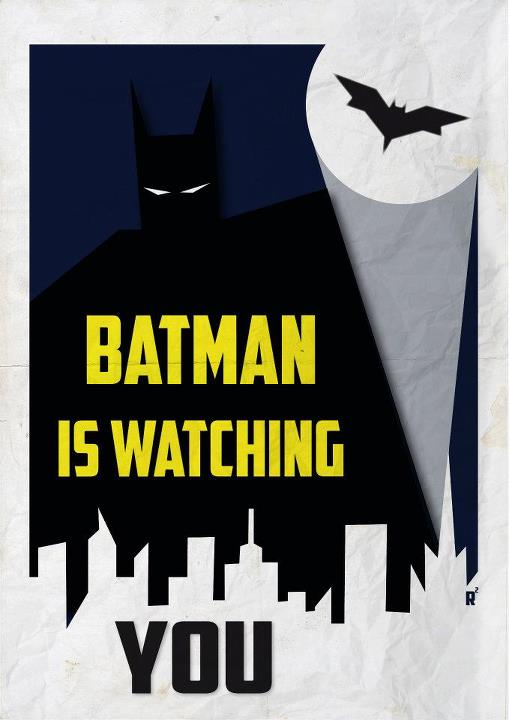 batman is watching you by lozart