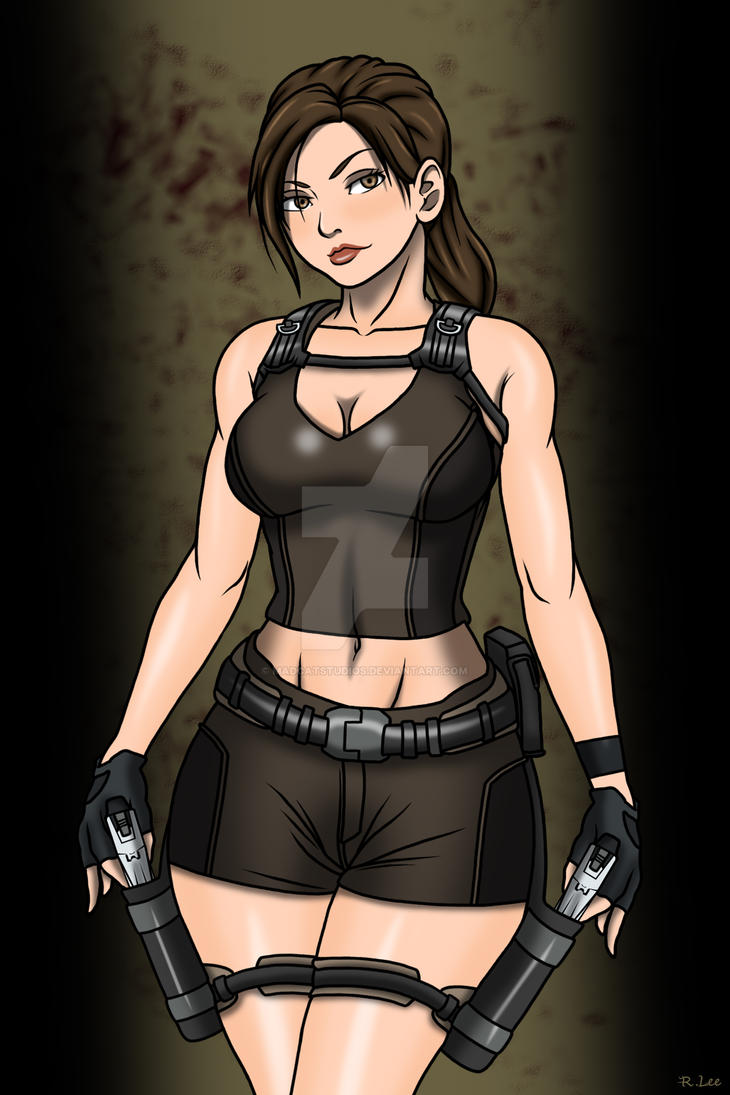 Lara Croft by Madcatstudios
