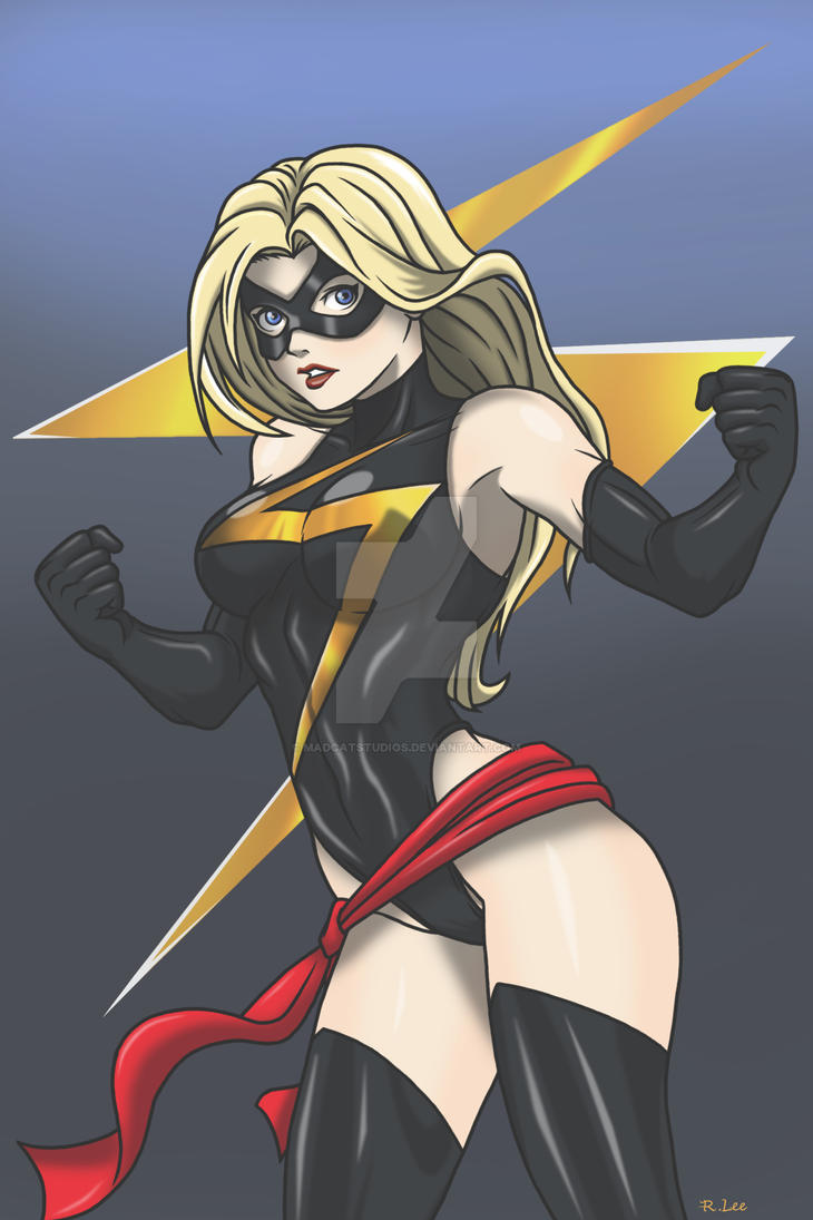 Ms. Marvel by Madcatstudios