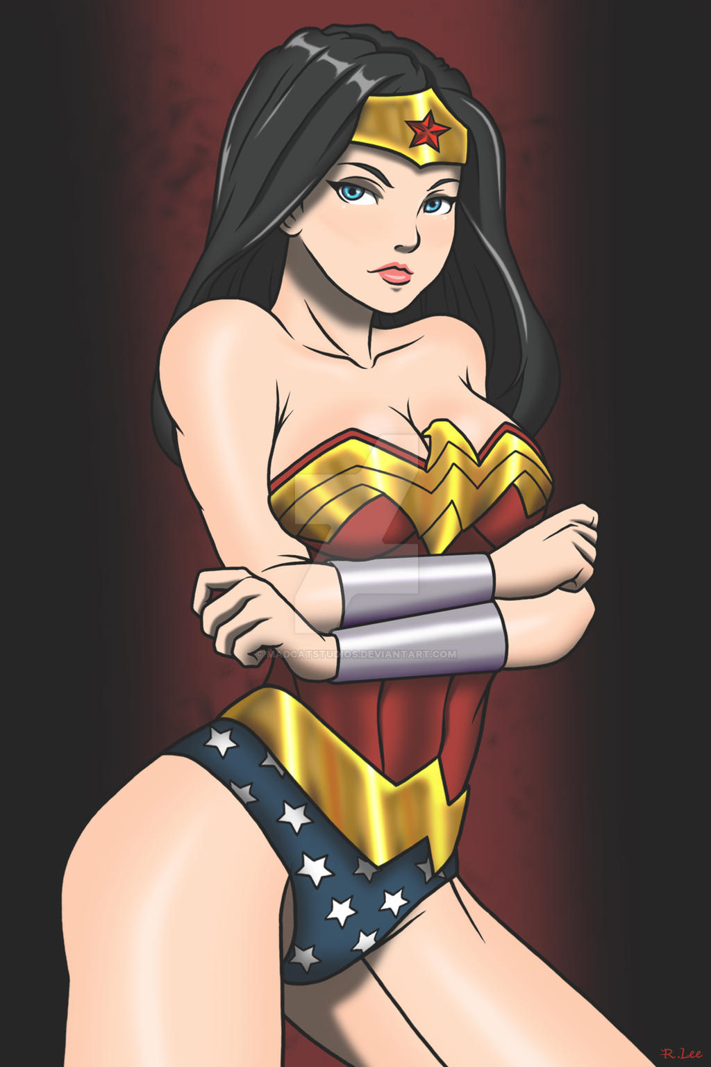 Wonder Woman by Madcatstudios