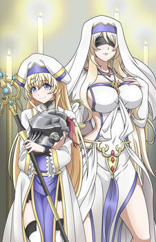 Goblin Slayer Sword Maiden and Priestess