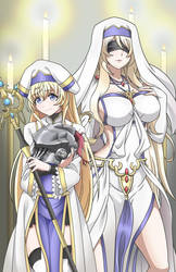 Goblin Slayer Sword Maiden and Priestess