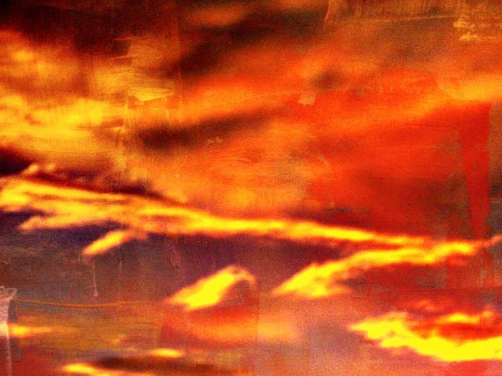 Orange Sunset by AnotherDarkNerd