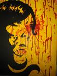 self portrait in blood II