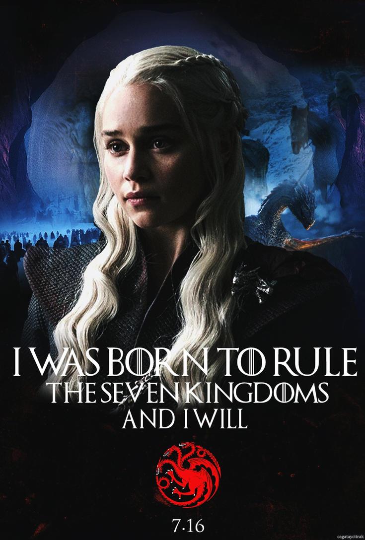 Daenerys targaryen game of thrones season 7 by for Daenerys jewelry season 7