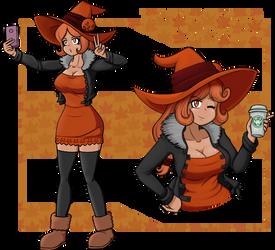 The Glitch Fairy - Namya, The Orange Witch