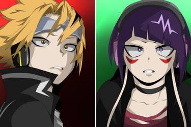 Kaminari and Jiro - My Hero Academia 263 by YTperm