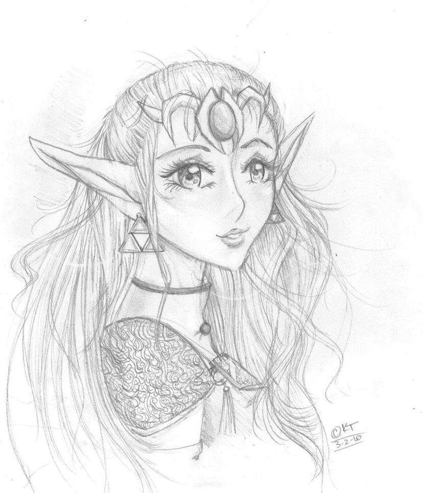 The Princess, Zelda by Shinkami