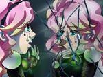 Broken Reflection - otome preview art