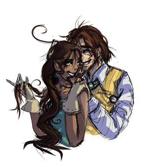 Olly And Anaya by Shinkami